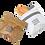 Thumbnail: Tyvek Sandwich Bag x 2  (Nom...)