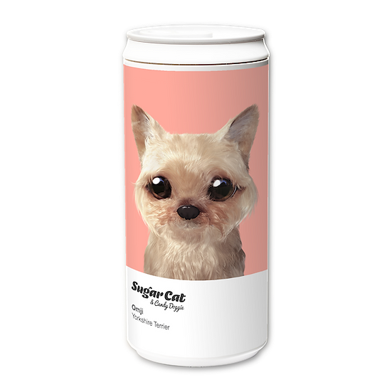 ECO Can 330ml_SugarCat CandyDoggie_Omji the Yorkshire Terrier