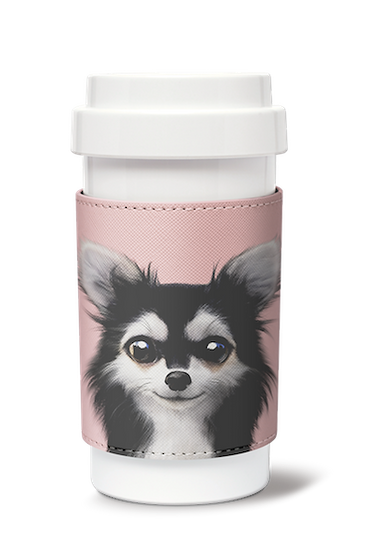 Cafe plus 400ml w/ PU sleeve_SugarCat CandyDoggie_Cola