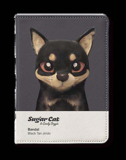 Passport Holder_SugarCat CandyDoggie_Bandal the Black Tan