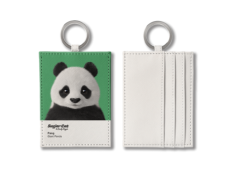 O-ring card holder_SugarCat CandyDoggie_Pang the Giant Panda