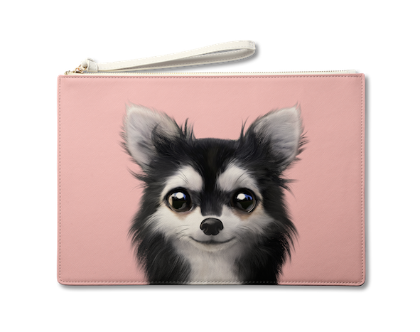 Large Pouch_SugarCat CandyDoggie_Cola the Chihuahua