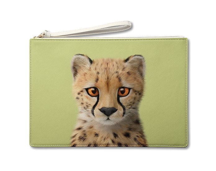 Large Pouch_SugarCat CandyDoggie_Samantha The Cheetah
