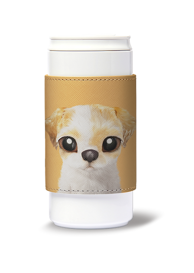 ECO Can Plus 330ml w/ sleeve_SugarCat CandyDoggie_Porry the Shih Tzu