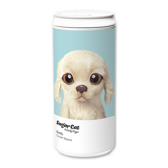 ECO Can 330ml_SugarCat CandyDoggie_Goofy the Cocker Spaniel
