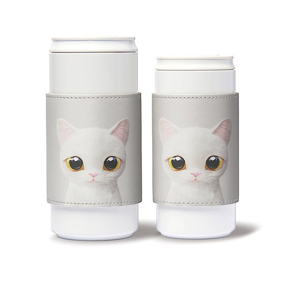 ECO Can Plus 450ml w/ sleeve_SugarCat CandyDoggie_Miu the Scottish Straight
