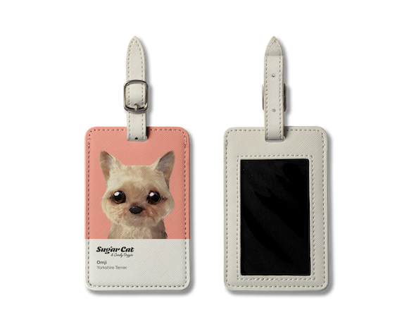 Luggage Tag_SugarCat CandyDoggie_Omji the Yorkshire Terrier