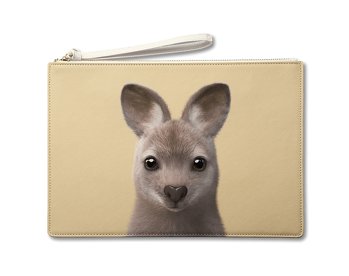 Large Pouch_SugarCat CandyDoggie_Wawa the Wallaby