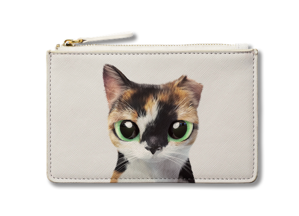 Small Pouch_SugarCat CandyDoggie_Fury the cat