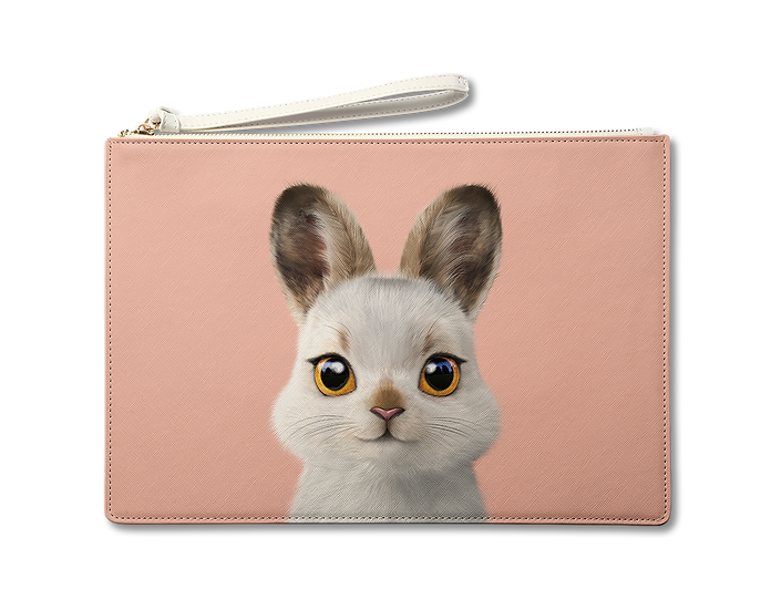 Large Pouch_SugarCat CandyDoggie_Bunny The Mountain Hare