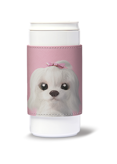 ECO Can Plus 330ml w/ sleeve_SugarCat CandyDoggie_Iryn the Maltese