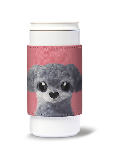 ECO Can Plus 330ml w/ sleeve_SugarCat CandyDoggie_Nanee the Poodle