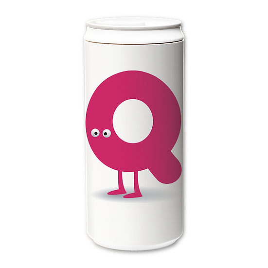 ECO Can 330ml_Funny Alphabet_Q