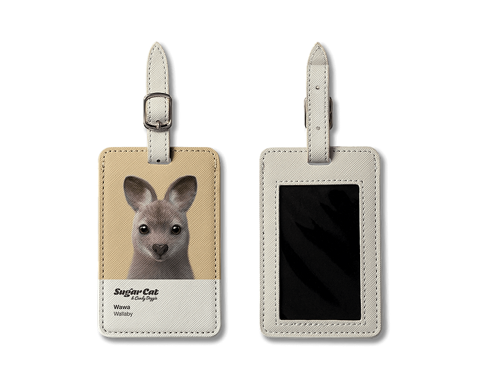Luggage Tag_SugarCat CandyDoggie_Wawa the Wallaby