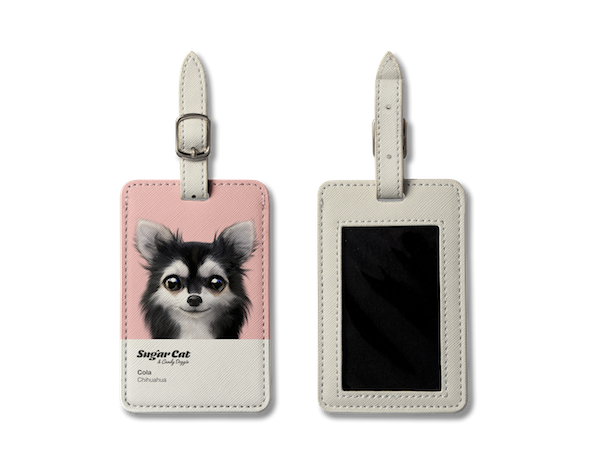 Luggage Tag_SugarCat CandyDoggie_Cola the Chihuahua