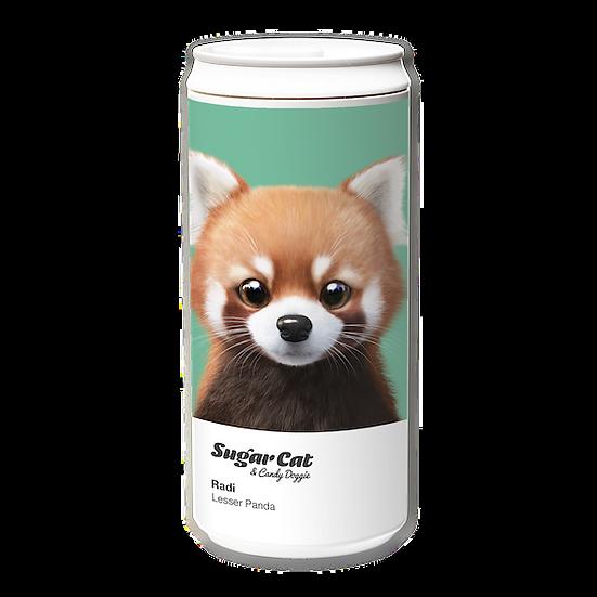 ECO Can 330ml_SugarCat CandyDoggie_Radi the Lesser Panda