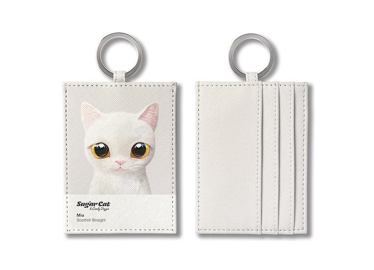 O-ring card holder_SugarCat CandyDoggie_Miu the Sottish Straight