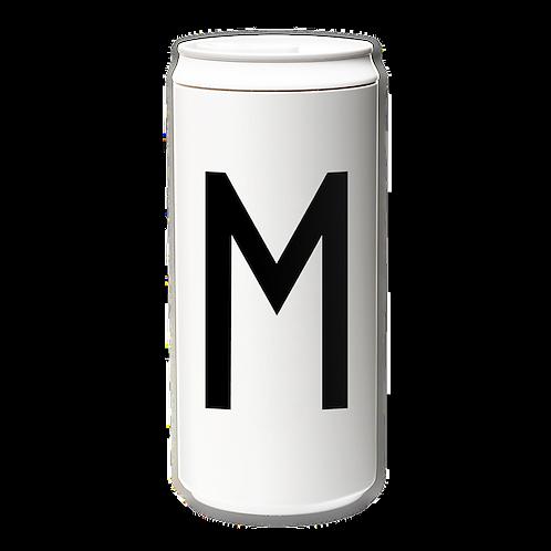 EcoCanPlus330ml_Letter M with Tyvek mug holder