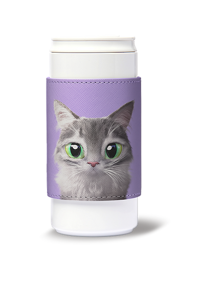 ECO Can Plus 330ml w/ sleeve_SugarCat CandyDoggie_Emma the Norwegian Forest cat