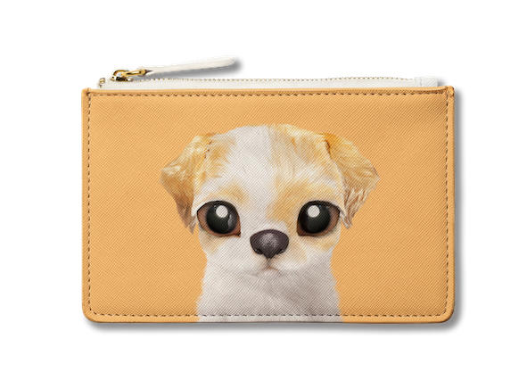 Small Pouch_SugarCat CandyDoggie_Porry the Shih Tzu