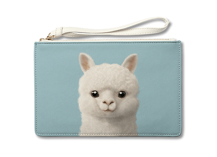 Medium Pouch_SugarCat CandyDoggie_Angsom The Alpaca