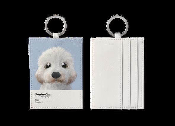 O-ring card holder_SugarCat CandyDoggie_Tayo the Doodle dog
