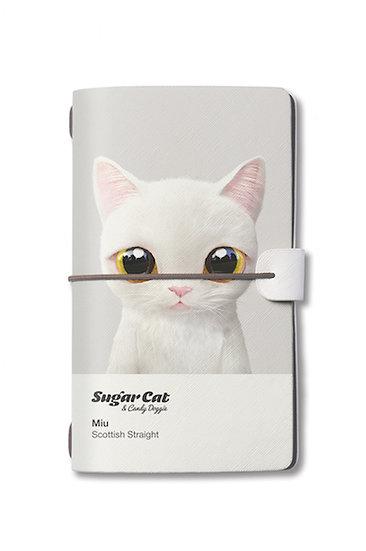 Travelogue notebook_SugarCat CandyDoggie_Miu the Scottish Straight