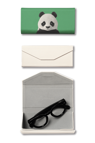 Foldable spectacle case_SugarCat CandyDoggie_Pang the Giant Panda