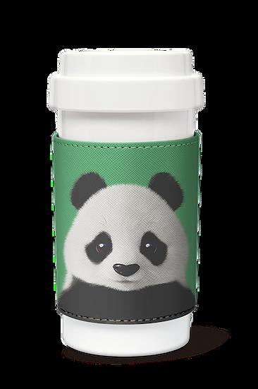 Cafe plus 400ml w/ PU sleeve_SugarCat CandyDoggie_Pang the Giant Panda