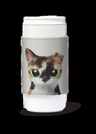 ECO Can Plus 330ml w/ sleeve_SugarCat CandyDoggie_Fury the cat