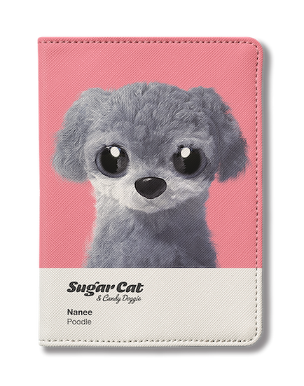 Passport Holder_SugarCat CandyDoggie_Nanee the Poodle