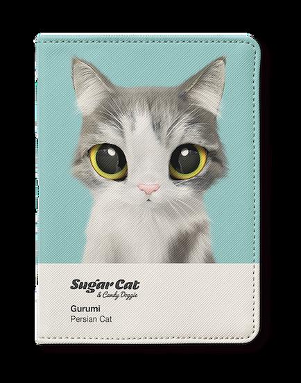 Passport Holder_SugarCat CandyDoggie_Gurumi the Persian cat