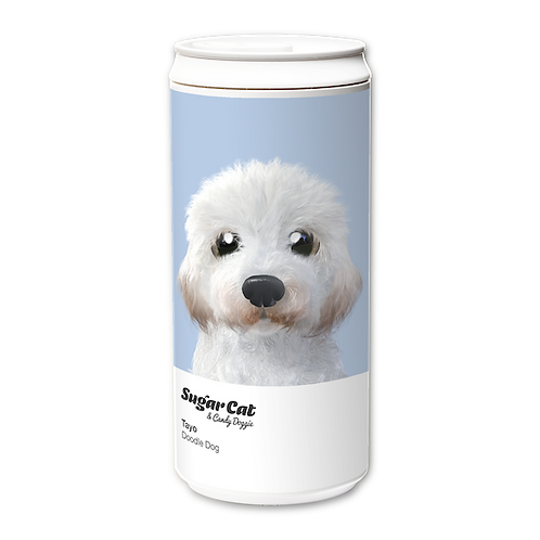 ECO Can 450ml_SugarCat CandyDoggie_Tayo the Doddle dog