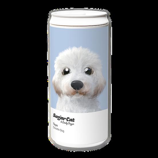 ECO Can 330ml_SugarCat CandyDoggie_Tayo the Doodle dog