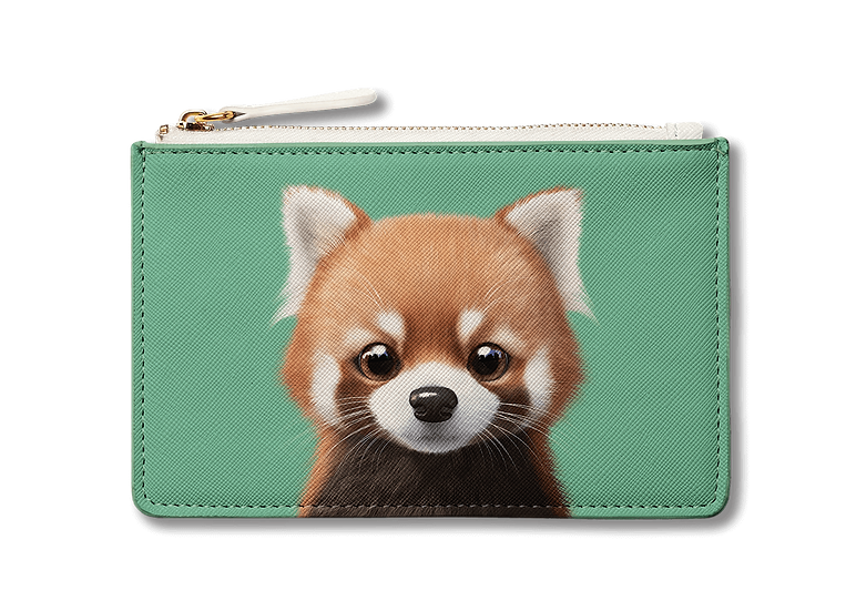 Small Pouch_SugarCat CandyDoggie_Radi the Lesser Panda