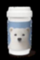 Cafe plus wz sleeve_Polar the Polar Bear
