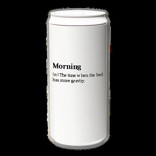 Eco Mug 330ml with Tyvek mug holder (Morning...)