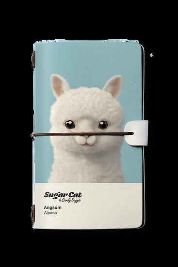 Travelogue notebook_SugarCat CandyDoggie_Angsom The Alpaca