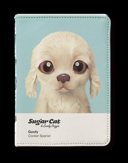 Passport Holder_SugarCat CandyDoggie_Goofy the Cocker Spaniel