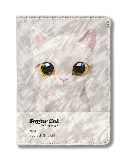 Passport Holder_SugarCat CandyDoggie_Miu the Scottish Straight