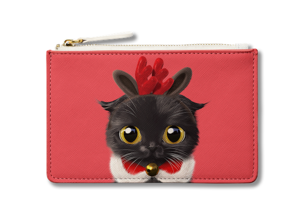 Small Pouch_SugarCat CandyDoggie_Santa Gimo