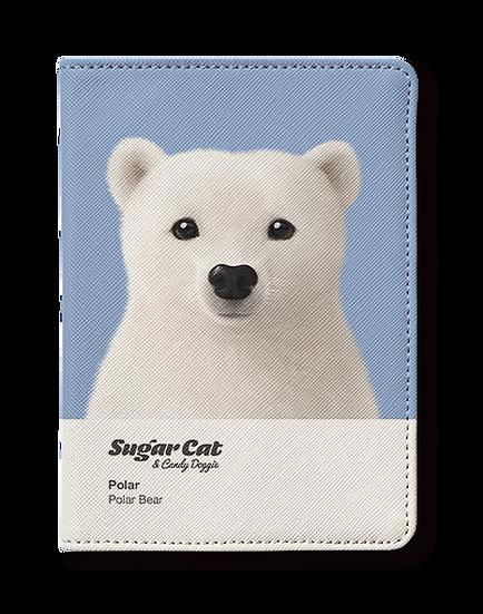 Passport Holder_SugarCat CandyDoggie_Polar the Polar Bear