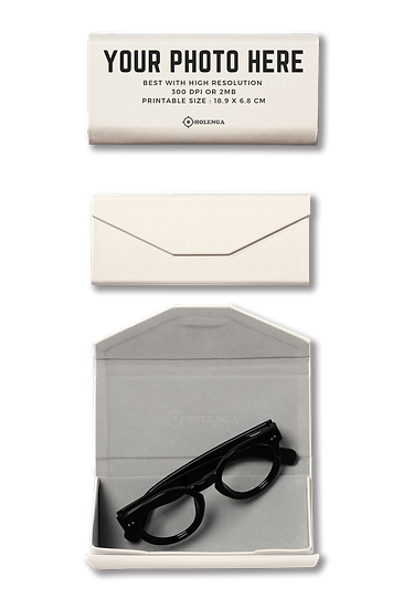 Foldable spectacle case_Personalization