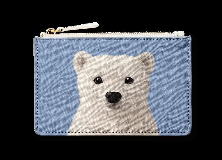 Small Pouch_SugarCat CandyDoggie_Polar the Polar Bear