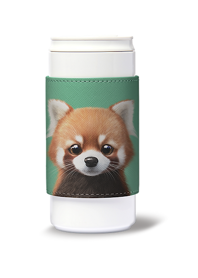ECO Can Plus 330ml w/ sleeve_SugarCat CandyDoggie_Radi the Lesser Panda