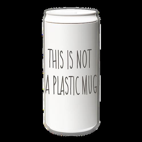 EcoCanPlus330ml_This is not plastic mug_gray