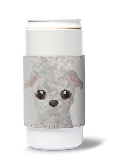 ECO Can Plus 450ml w/ sleeve_SugarCat CandyDoggie_Mongi the Maltese