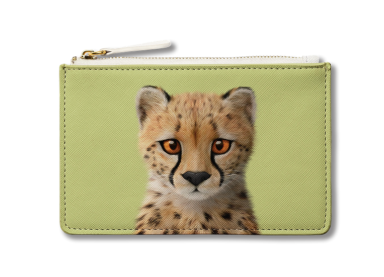 Small Pouch_SugarCat CandyDoggie_Samantha The Cheetah