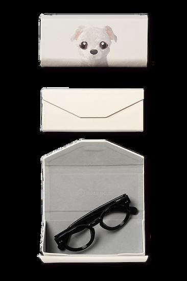 Foldable spectacle case_SugarCat CandyDoggie_Mongi the Maltese