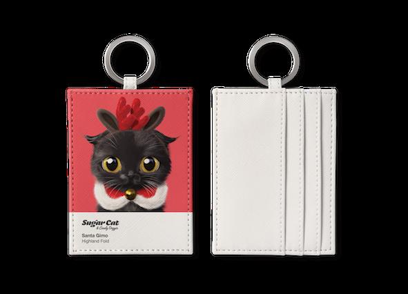 O-ring card holder_SugarCat CandyDoggie_Santa Gimo